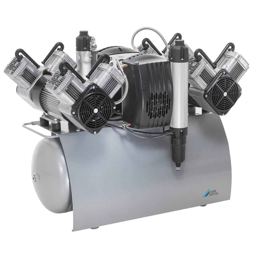 Durr Quattro Tandem Compressor - Global Dental