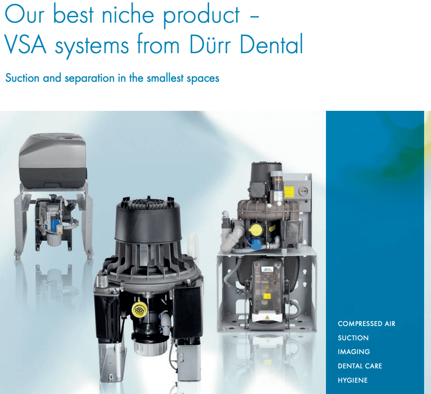 VSA systems for Global Dental