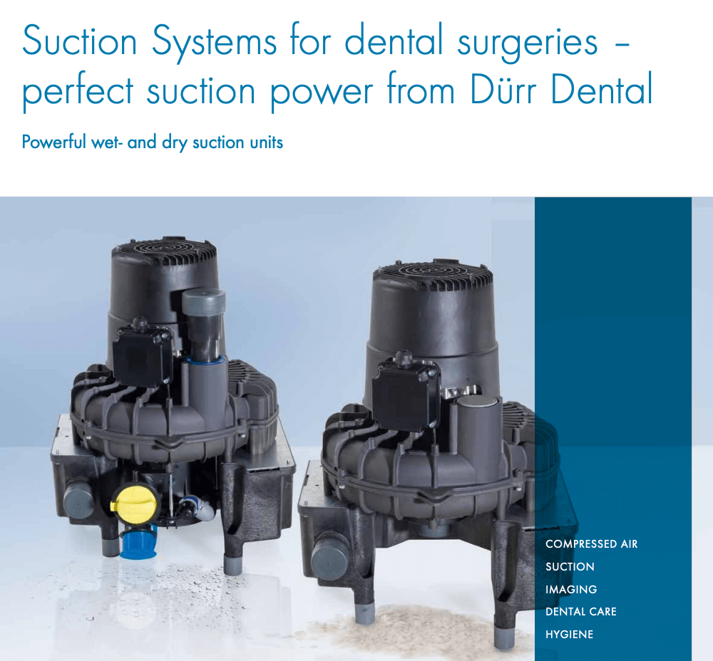 suction systems for dental surgeries