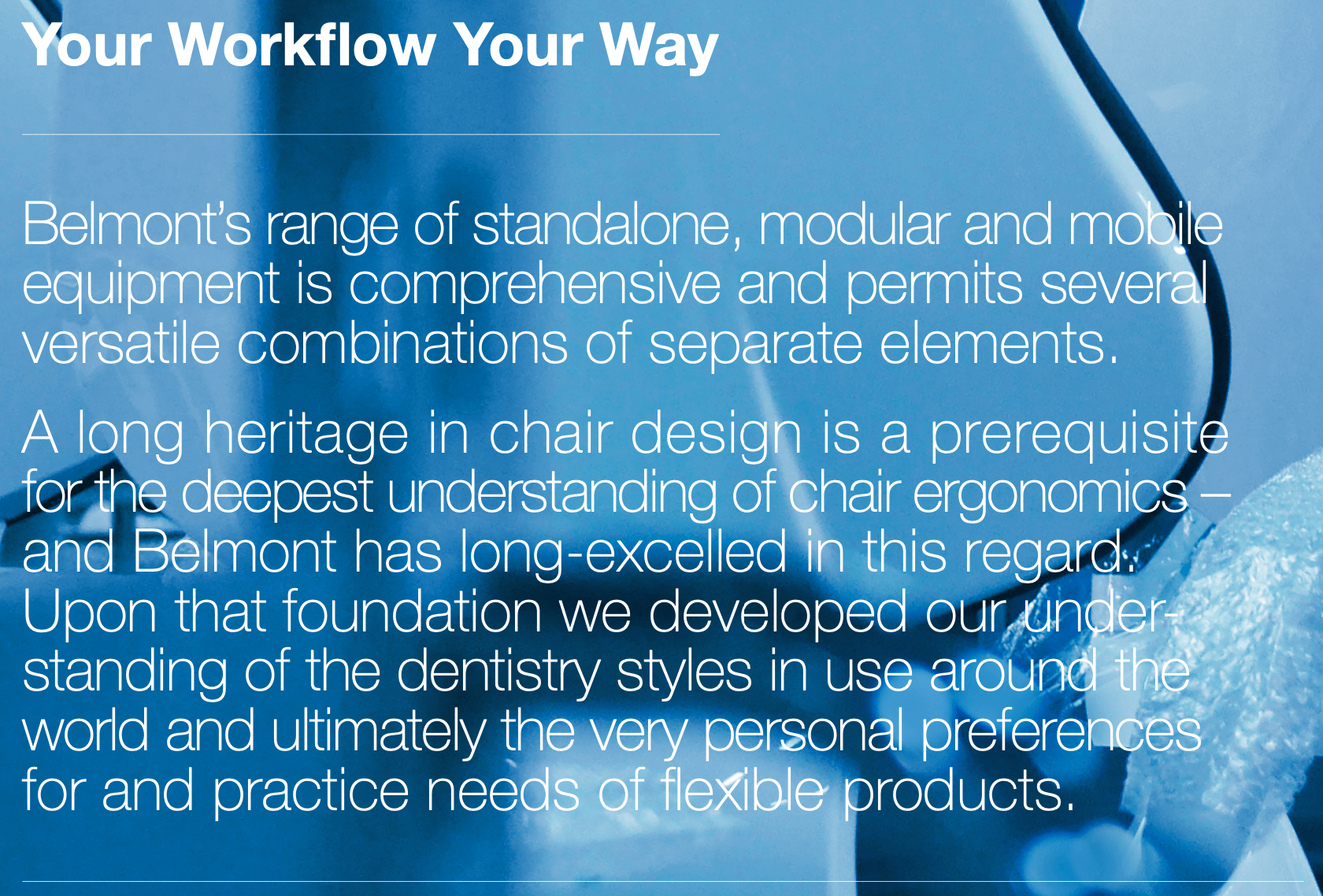 Workflow belmont global dental