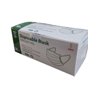 3 Ply Medical Face Masks (Box of 50)