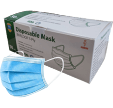 disposable 3-ply medical dace masks - ppe