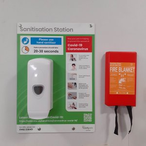 Wall Mounted Hand Sanitiser Station